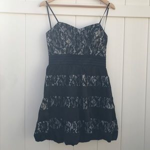 City triangles black dress for women size 9